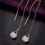 Crystal Water Drop Earrings for Women