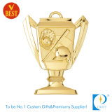 High Quality Custom Award Gold 3D Baseball Cup