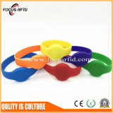 High Quality Logo Printed RFID Silicone Wristband Tag Fashion Design