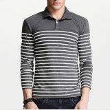 Fashion Custom Quality Promotion Strip Youth Polo Shirts