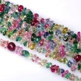 Semi Precious Stone Crystal Gemtstone Chips Nugget Loose Bead<Esb-CS018>