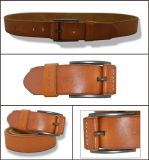 Men's Cool Pin Buckle Genuine Leather Belt