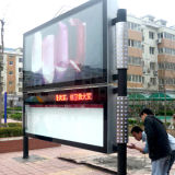 Roadside Single Side Scrolling Bulletin Light Box Frame