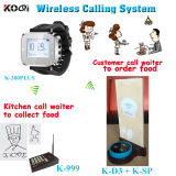 Electronic Pager Caller System for Restaurant Kitchen Equipment