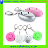Portable Women Kids Self-Defense Emergency Personal Alarm with LED Light