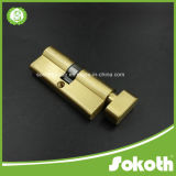 Nice Design Simple Look Golden Copper Cylinder Lock Skt-C06
