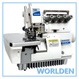 Wd-700-5W Super High Speed Wide Needle Gage Overlock Sewing Machine