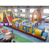 Inflatable Obstacle Course Bouncer/Park Adult Inflatable Obstacle Course