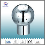 Sanitary Stainless Steel Welded Fixed Cleaning Ball (ISO-NM120105)