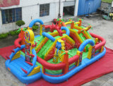 2017 Funcity Inflatable Obstacle Course for Park