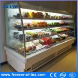 Grocery Used Fruits and Vegetabls Display Open Front Cooler