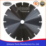 230mm Laser Welded Blade for Hard Fired Clay Bricks Cutting