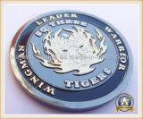 Customized Brass Die Struck Duak Plating Challenge Coin (Hz 1001 C012)