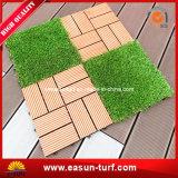 Artificial Grass Interlocking Outdoor Tile for Garden Decorative