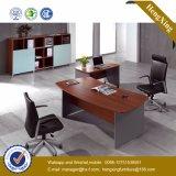Melamine Formica PVC Laminated L Shape Executive Office Desk (HX-RS214)