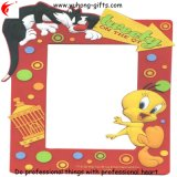 Hot Sell Colorfully Lovely PVC Picture Frame for Wholesale (YH-PF049)