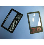 Customized Pocket Size Card Size Plastic Lens Magnifier