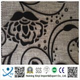 The Spanish Style Flock Fabric, Yarn Count 50d*50d 55GSM Flocked Fabric, The New Clothing Fabric Flock Fabric