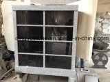 Grey Granite Memorial Cremation Niches Columbarium / Columbaria