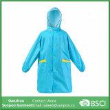 Rainproof Polyester Rain Coat for Children