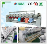 """8 Heads 10"""" Computer Cap Embroidery Machine, 9/12 Needles Computerized T-Shirt Embroidery and Flat Embroidery Machine with High Speed Prices"""