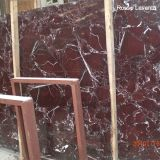 Polished Rosso Levanto Marble for Exterior - Interior Wall and Floor Applications, Monuments, Countertops, Mosaic, Fountains, Pool