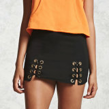 Fashion Women Preppy Style Sexy Slim Bandage Miniskirt Dress