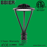 2013 New Style 100W LED Post Top Lamps ETL Dlc Listed IP65