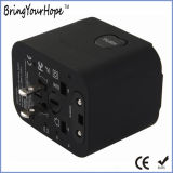 Ce/FCC/RoHS Certificated Travel Adapter with Quad USB Ports (XH-UC-014)