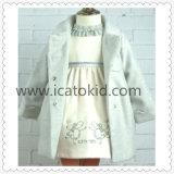 Autumn Girls Dress Designer Children Kids Clothes for Baby Girls