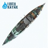 4.3m Single Seat Fishing Kayak Boat Model by Liker Kayak