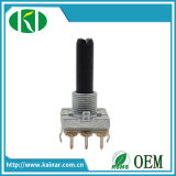 16mm Rotary Encoder Without Switch Plastic Shaft Ec16-1
