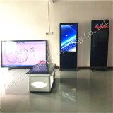 55inch Floor Standing Totem Display with Built in Andriod or Windows All in One Option
