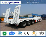 Utility Trailer Special Vechile 3 Axle Container Lowbed Semi Trailer