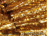 Beautiful and Fashion Metal Sequin Cloth, Fabric Sequin