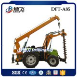 Tractor Type Mounted with Crane Screw Pile Driver