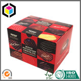 Custom Full Color Print Cardboard Paper Chocolate Packaging Box
