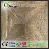 Parquet Geometric Pattern Flooring with Aesthetic Look