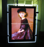 Double Side LED Backlit Crystal Magnetic Light Box (CDH03-A4P-01)