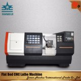 High Precision CNC Lathe Machine with Flat Bed