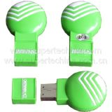Customized Silicone Shaped USB Flash Drive (S1A-6141C)