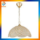 High Quality Crystal Iron E27 Pendant Lamp Lighting for Hotel/Home/Bedroom