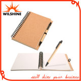 Custom Hot Selling Spiral Paper Notebook with Pen (SNB127)