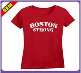 Custom Cotton Printed T-Shirt for Women (W230)