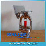 Sidewall Fire Sprinkler of Standard Response