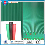 Industrial Anti-Slip Noise Reduction Fine-Ribbed Rubber Sheet