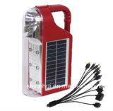 Solar Outdoor Light for Camping Light Portable with FM