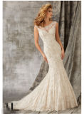 2016 Lace Crystal Bridal Wedding Dresses Wd1342