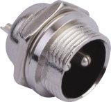 Circular Cable Power Waterproof Connector (M16-2A)
