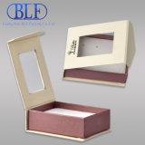 Clear PVC Window Magnetic Cardboard Paper Jewellery Box (BLF-023)